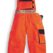 Pantalone con pettorina bicolore AV/019